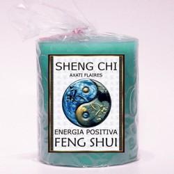 Vela Cilindro Feng Shui Seng Chi 80x70
