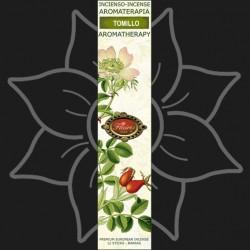 Tomillo Aromaterapia Incienso 16 barras