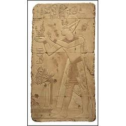 Relieve ofrenda a la diosa Maat 97 x 52 cm