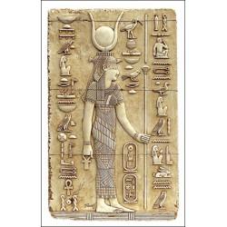 Relieve diosa Isis gde.  97 x 56 cm