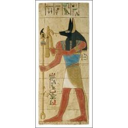 Relieve dios Anubis 59 x 23 cm