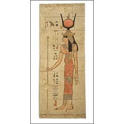 Relieve diosa Isis 59 x 23 cm