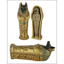 Sarcófago Anubis gde. 20cm