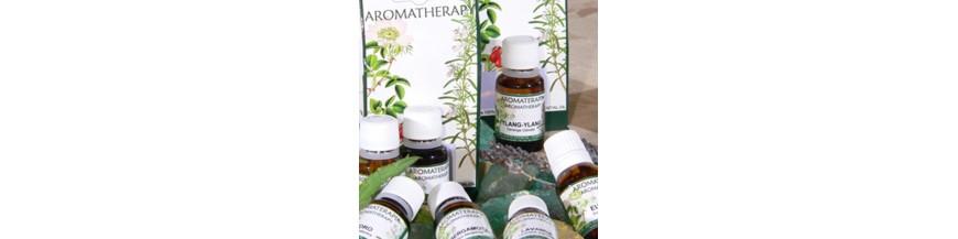 Aceites esenciales de aromaterapia